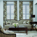 shutters and drapes