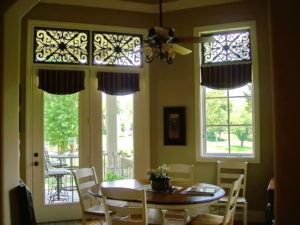 faux iron grilles in houston