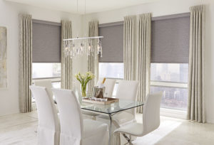 Dining Room Roller Shades