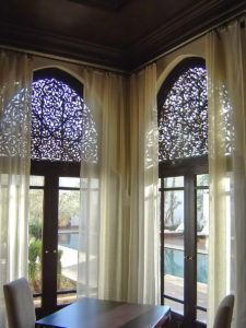 faux iron grilles arches houston