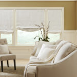 Roman Shades Formal Living Room