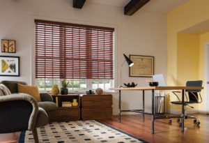Faux Wood Blinds Office