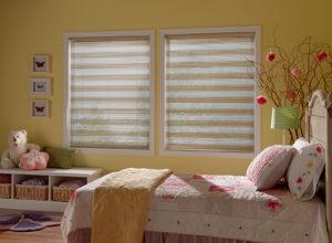 aluminum blinds bedroom