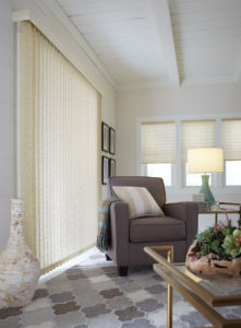 Vertical Blinds Living Room
