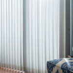 White Vertical Blinds