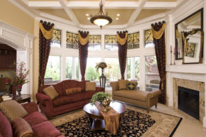 faux iron grilles window treatment houston