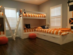 Shutters for Kids Room
