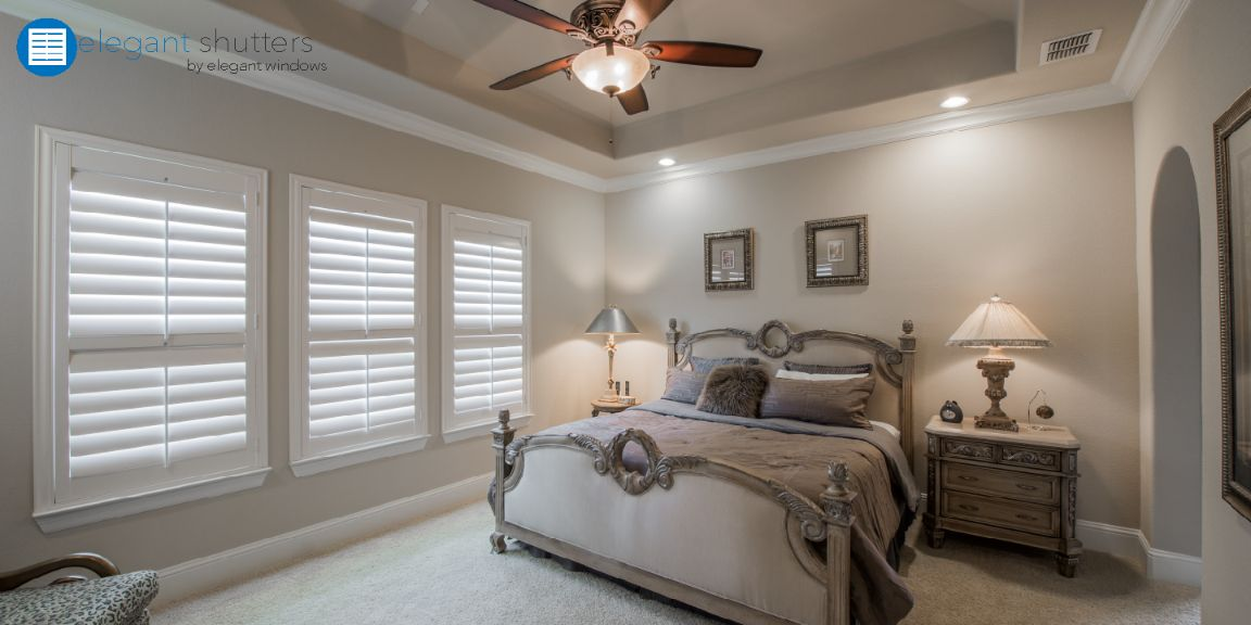 Shutters Master Bedroom Made In The Shade