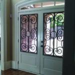tableaux faux iron grilles doors