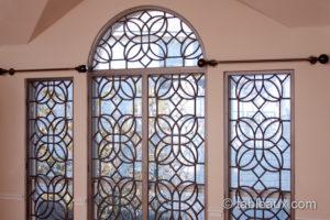 tableaux faux iron grilles windows