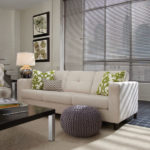 Aluminum Blinds Living Room