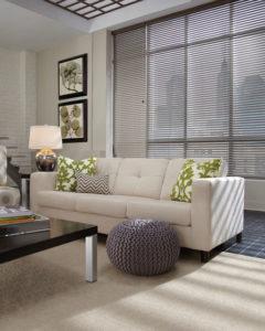 Aluminum Blinds Living Room