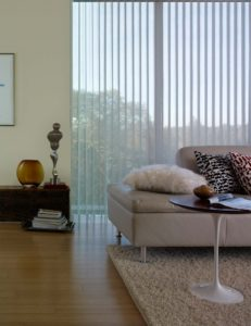 Soft sheer Vertical Blinds
