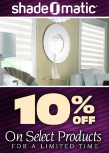 Get 10% Off on Select Shade-O-matic products